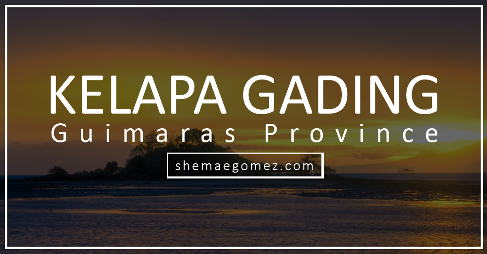Share Guimaras: Kelapa Gading
