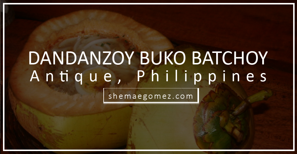 Where to Eat in Antique: Dandanzoy Buko Batchoy
