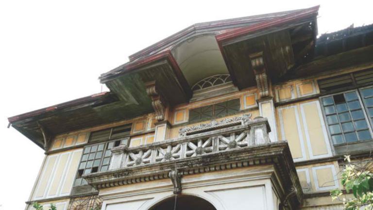 Iloilo City Cultural Heritage: Don Roque Locsin Sanson Mansion (Harp Fence)