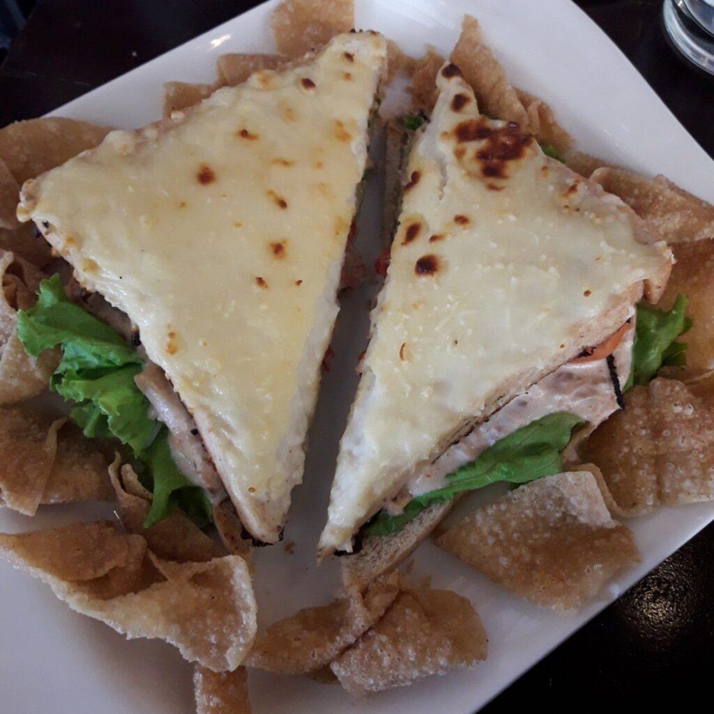 tuna cheese meltdown