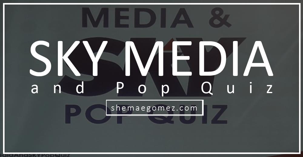 Share Iloilo: 2018 SKY Media and Pop Quiz