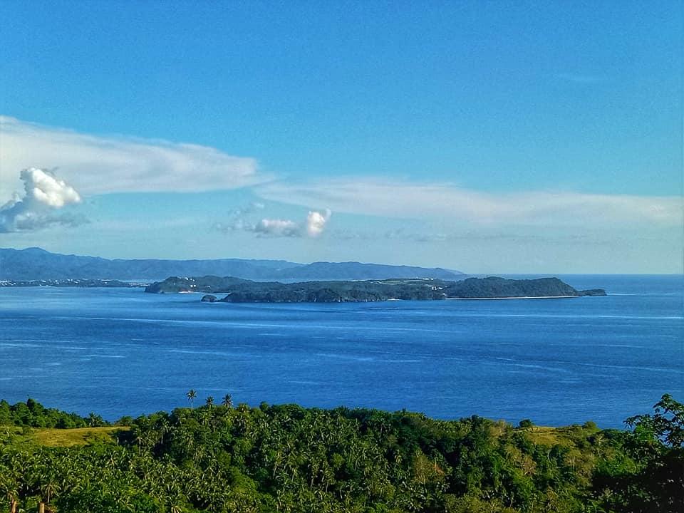 Boaracay Island as seen from Tagaytay Viewpoint