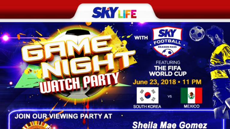 SkyLife Presents: Game Night Watch Party FIFA World Cup