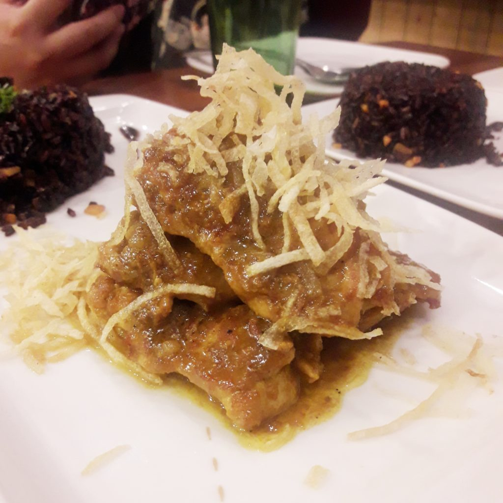 Chicken Pandan Curry by Live by Healthy Kitchen