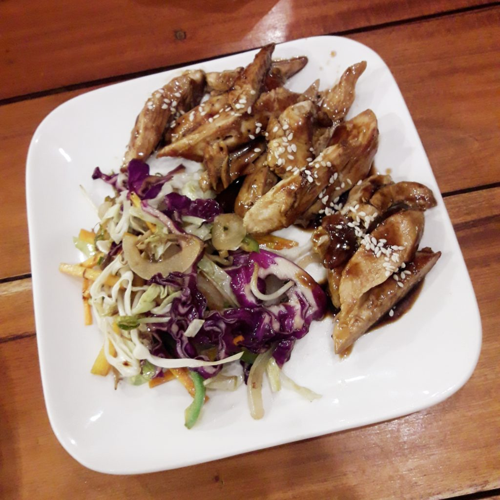 Chicken Teriyake Breast Strips Live by Healthy Kitchen
