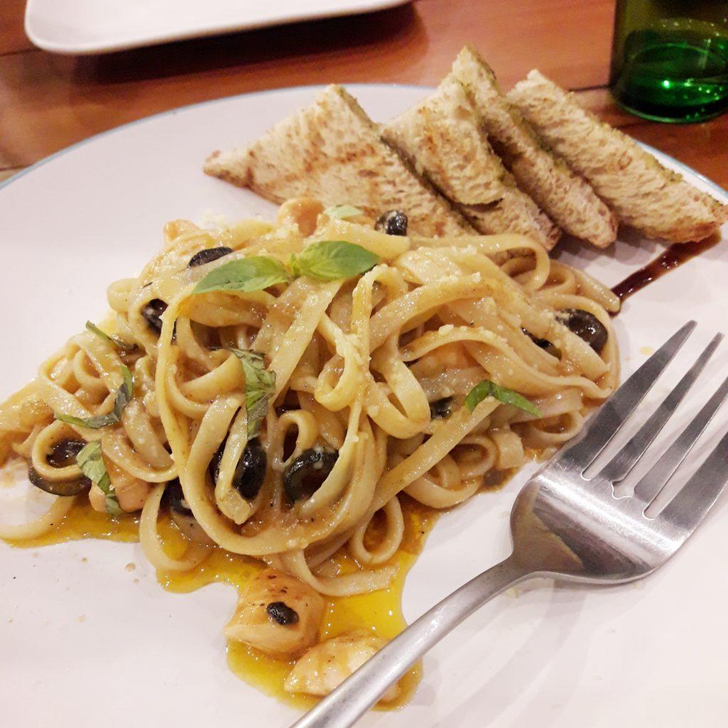 Spicy Tuna Pasta Live by Healthy Kitchen