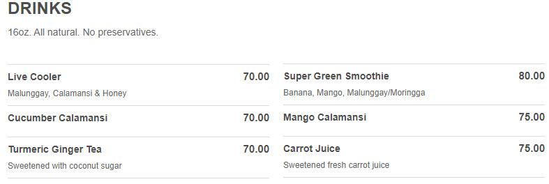 healthy kitchen drinks