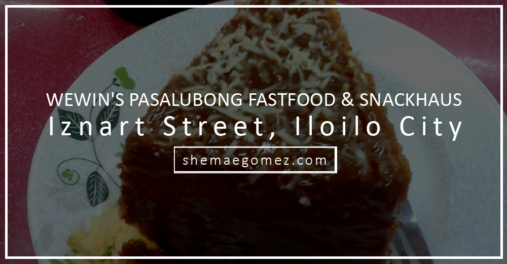 Wewin's Pasalubong Fastfood & Snackhaus: Bring Home Something