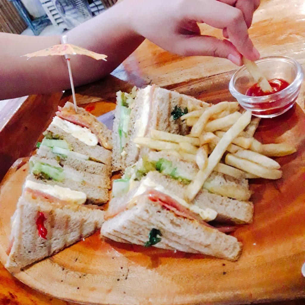 beach club sandwich