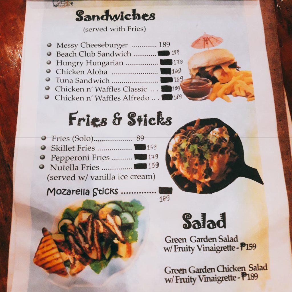 cafe aradelle's menu sandwiches