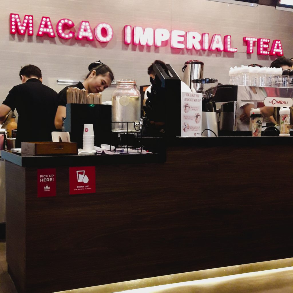 macao imperial tea counter