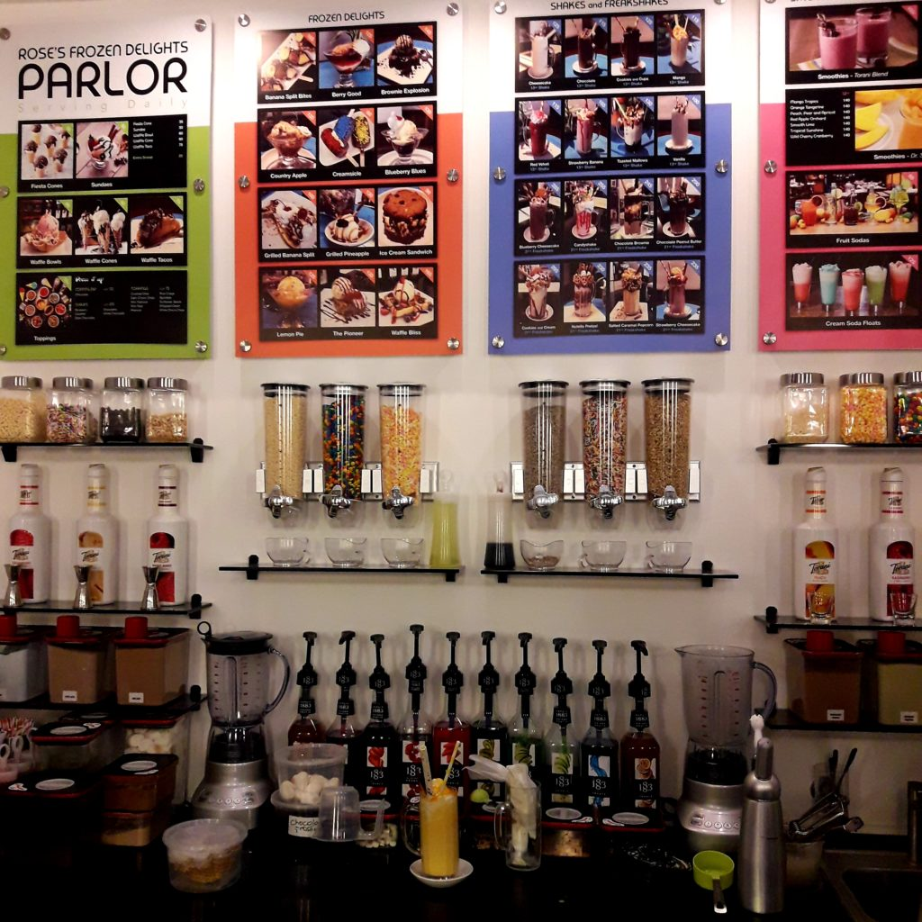 the parlor toppings