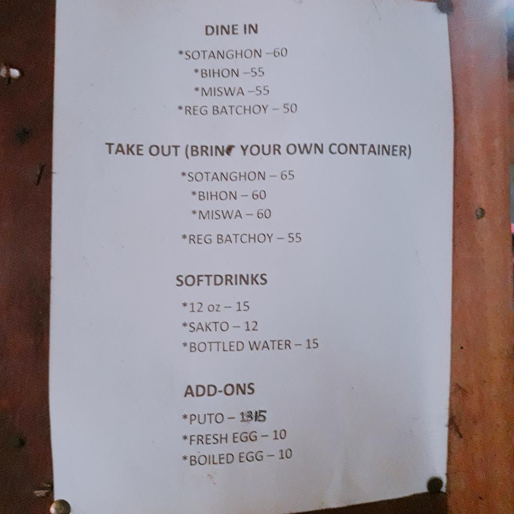 batchoyan ni jasmin menu