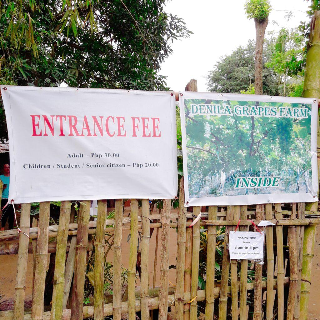denila farm entrance fees