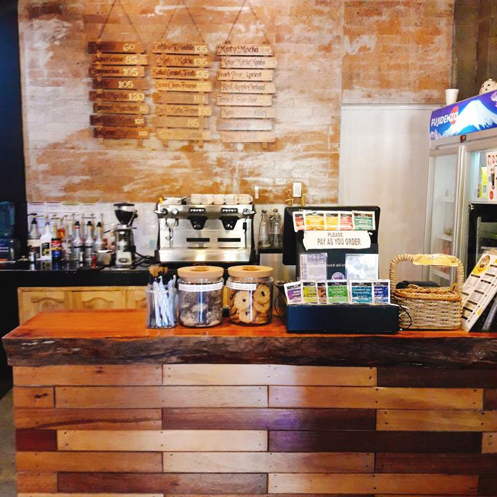 cafe sta. hildegarda counter