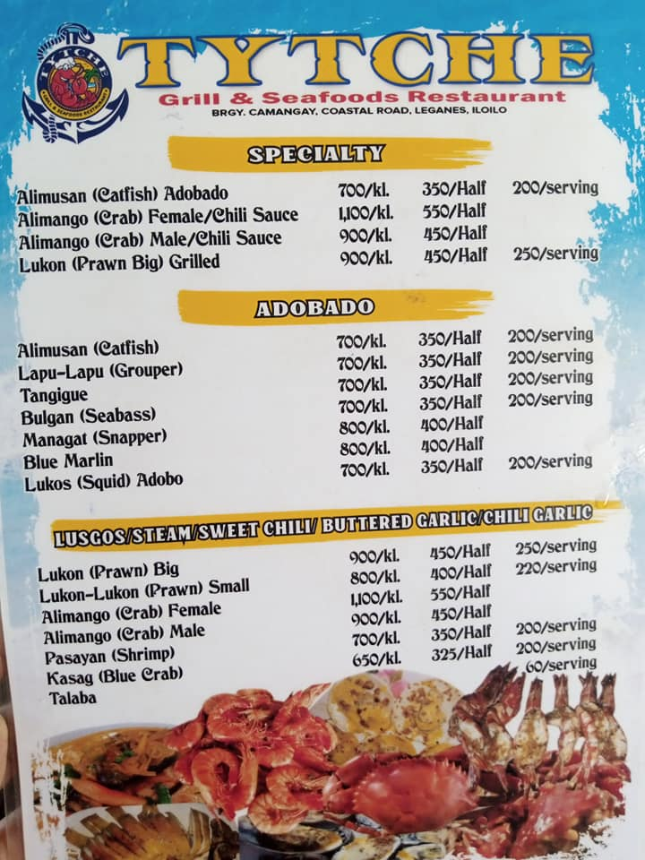 tytche iloilo menu