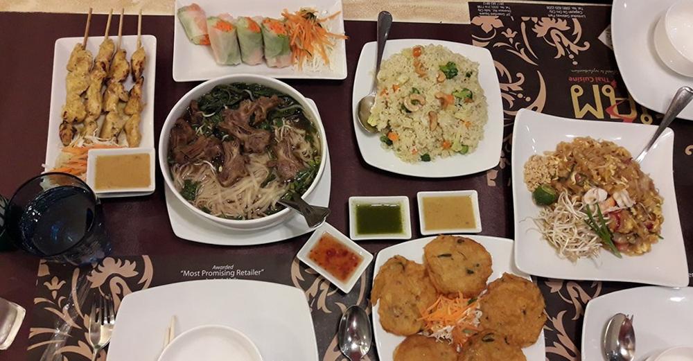 Siam Authentic Thai Cuisine: Dishes to Stimulate All the Senses