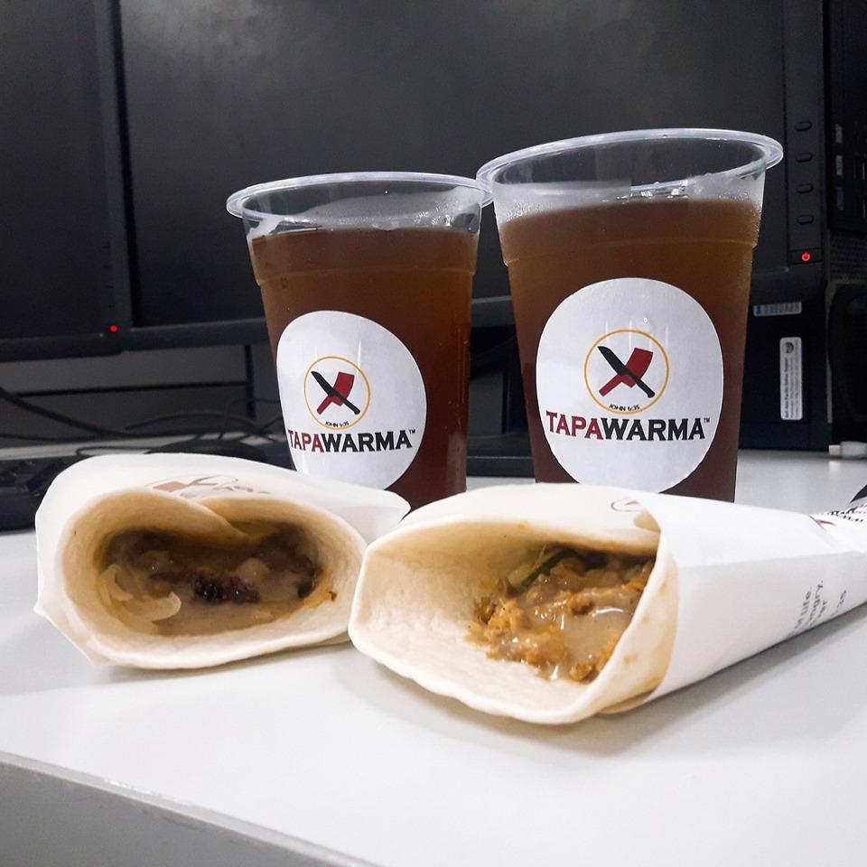 Tapawarma with Iced Tea