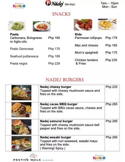 Nadej burger