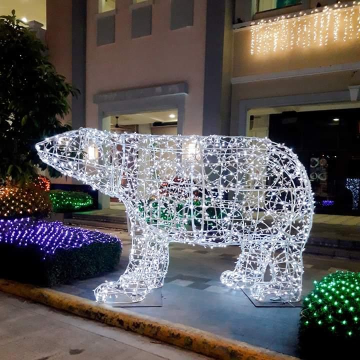 bear festive walk