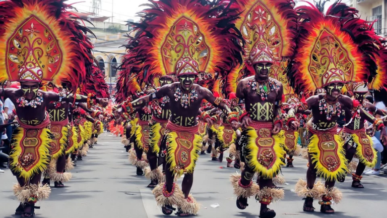 Dinagyang Festive Parade Set January 25, 2020