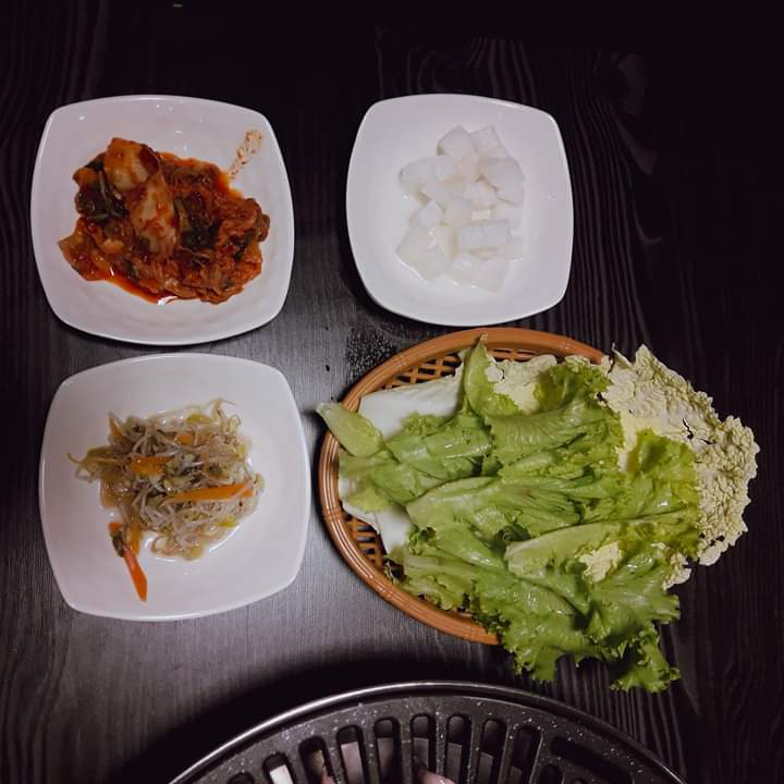 samgyupsal house side dish