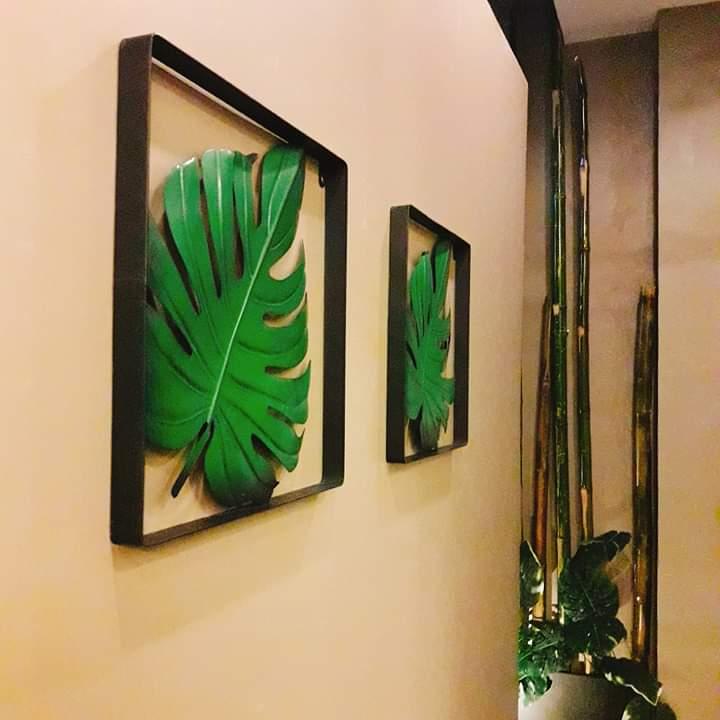 leaf healing spa frames