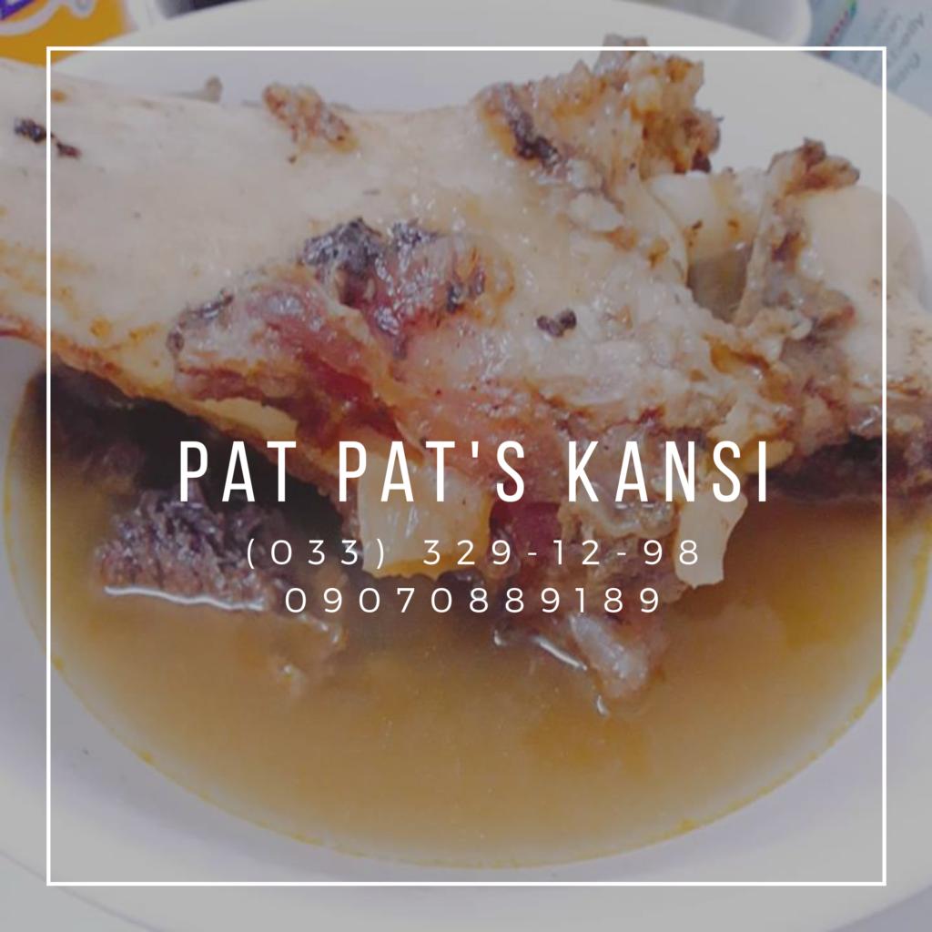 Pat Pats Kansi