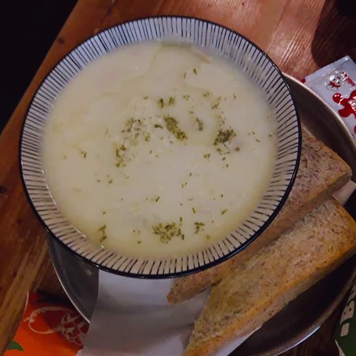 barn mushroom soup