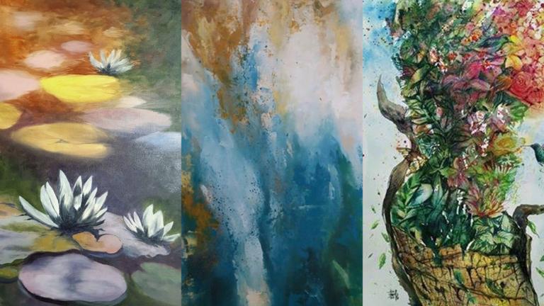 Himbon's Online Art Gallery Opens