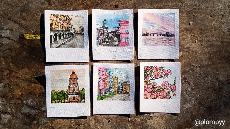 Iloilo City in Watercolor with Marion Carlet Pascasio