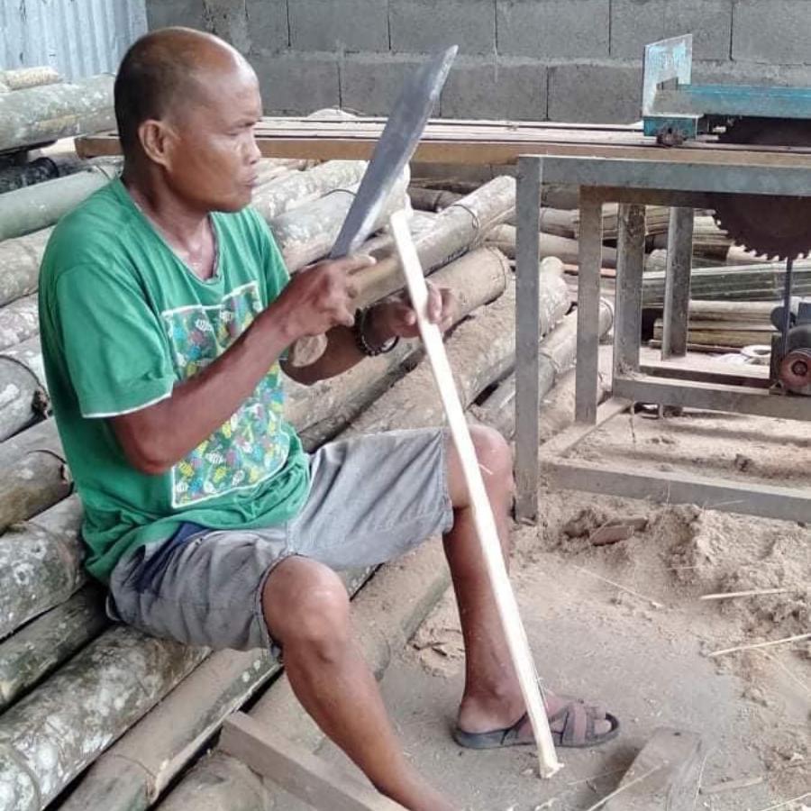 bamboo faceshield maker