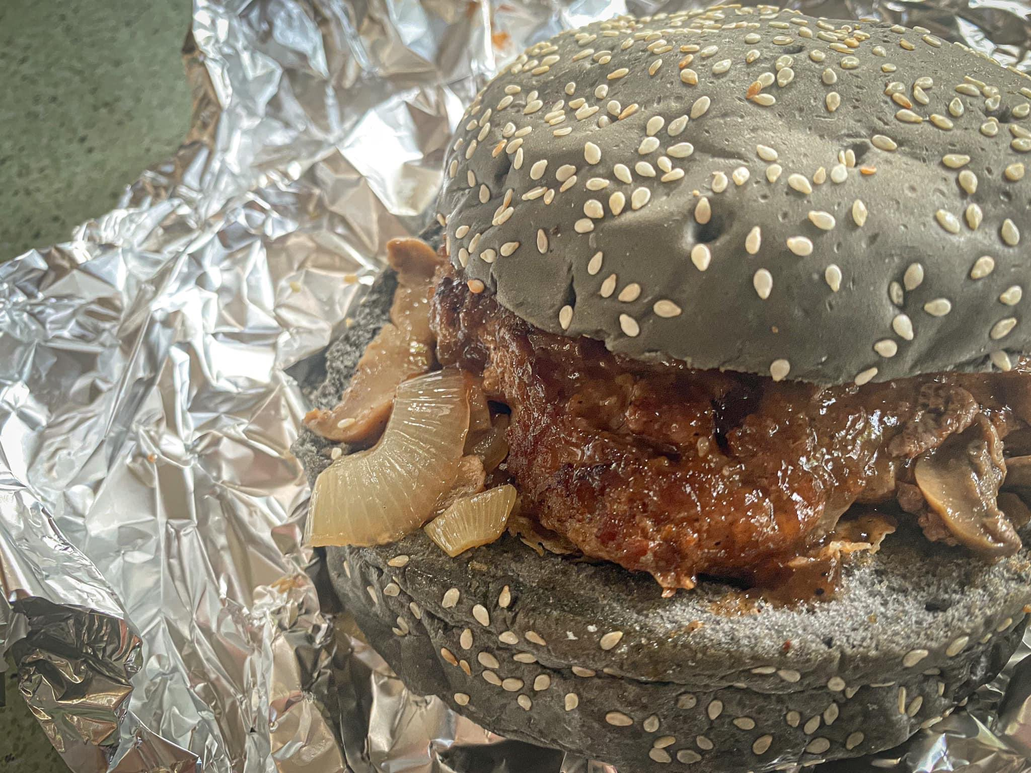 Big Black and Cheesy Burger