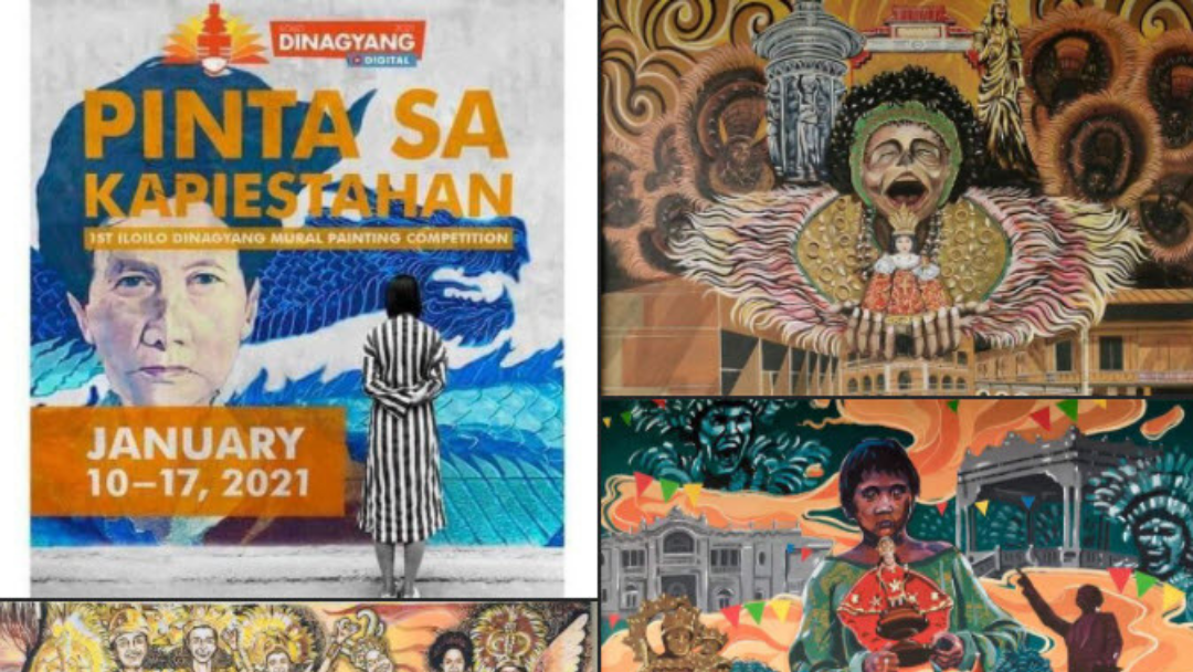 Official Entries for Pinta sa Kapiestahan: 1st Iloilo Dinagyang Mural Painting Competition