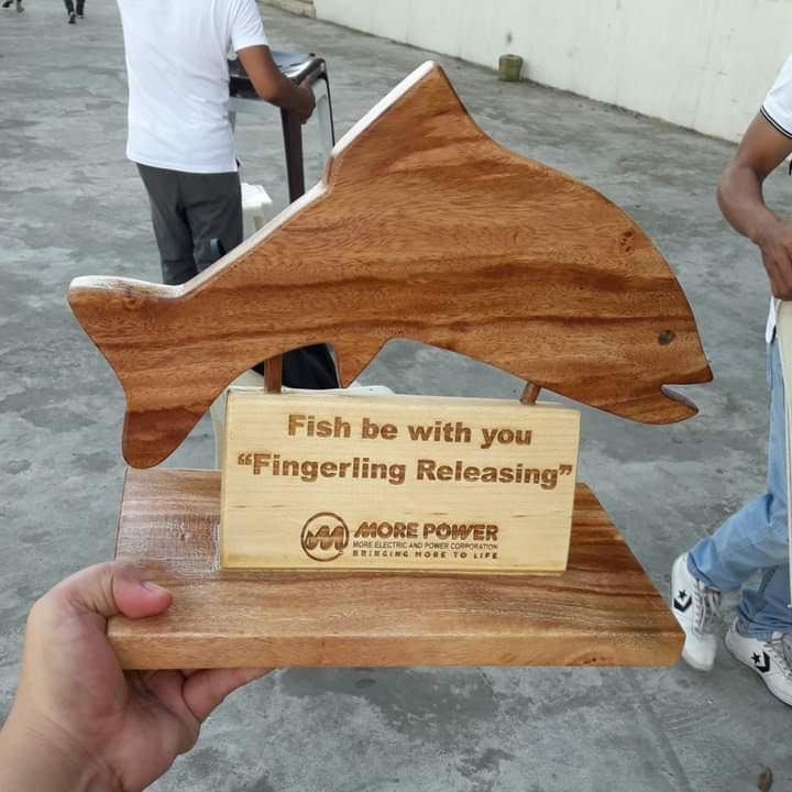 Fish be with you plaque