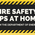 fire safety tips infographics