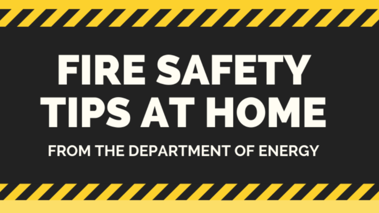 Fire Safety Tips at Home