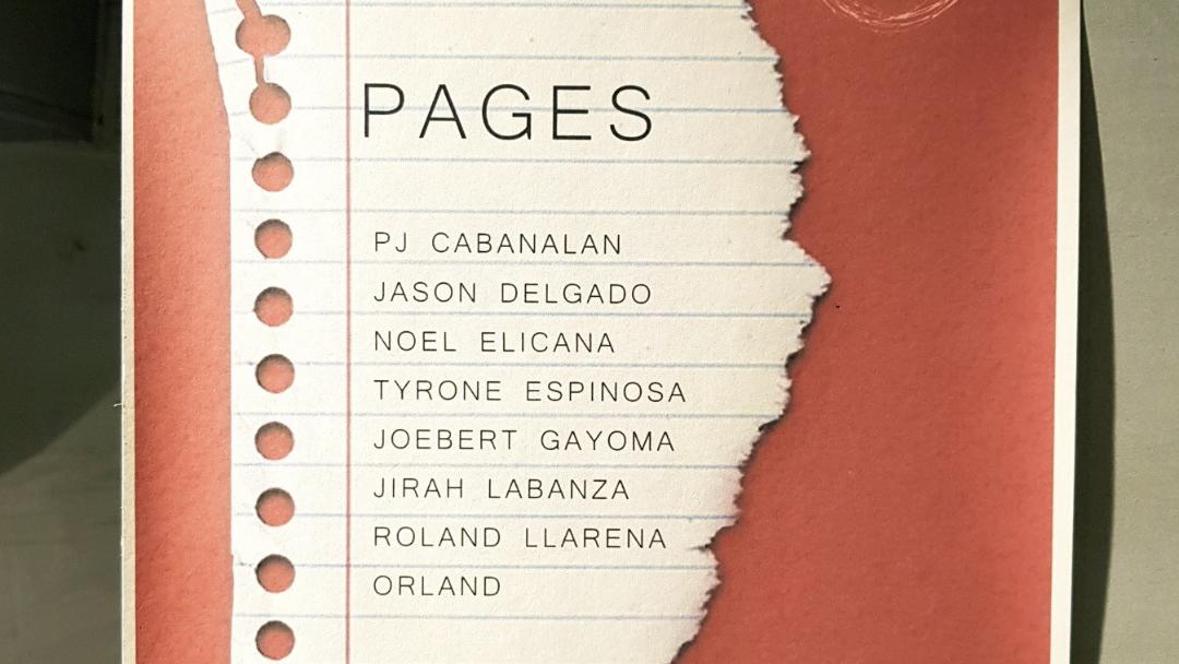 pages art exhibit