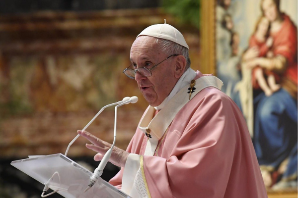 Pope Francis' Homily