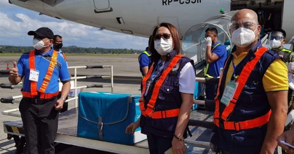 COVID-19 Vaccines Have Arrived in Iloilo