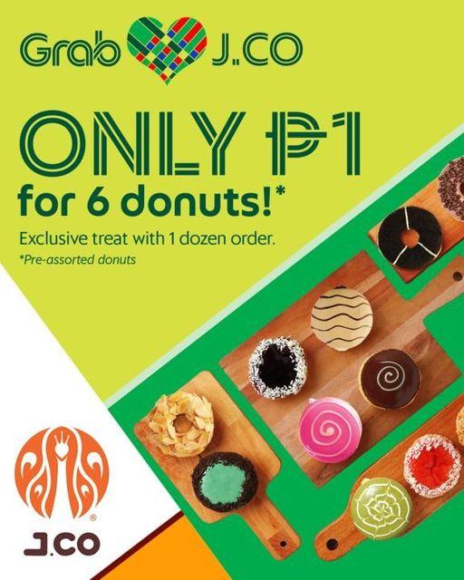 Grab Food and JCO Promo