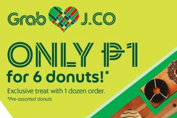 GRAB DEAL ALERT: PISO Half-Dozen Donuts from J.CO