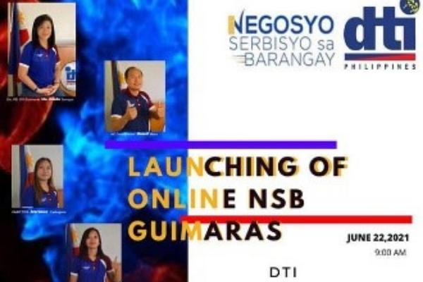 DTI Guimaras Launches 1st Online Negosyo Serbisyo Sa Barangay