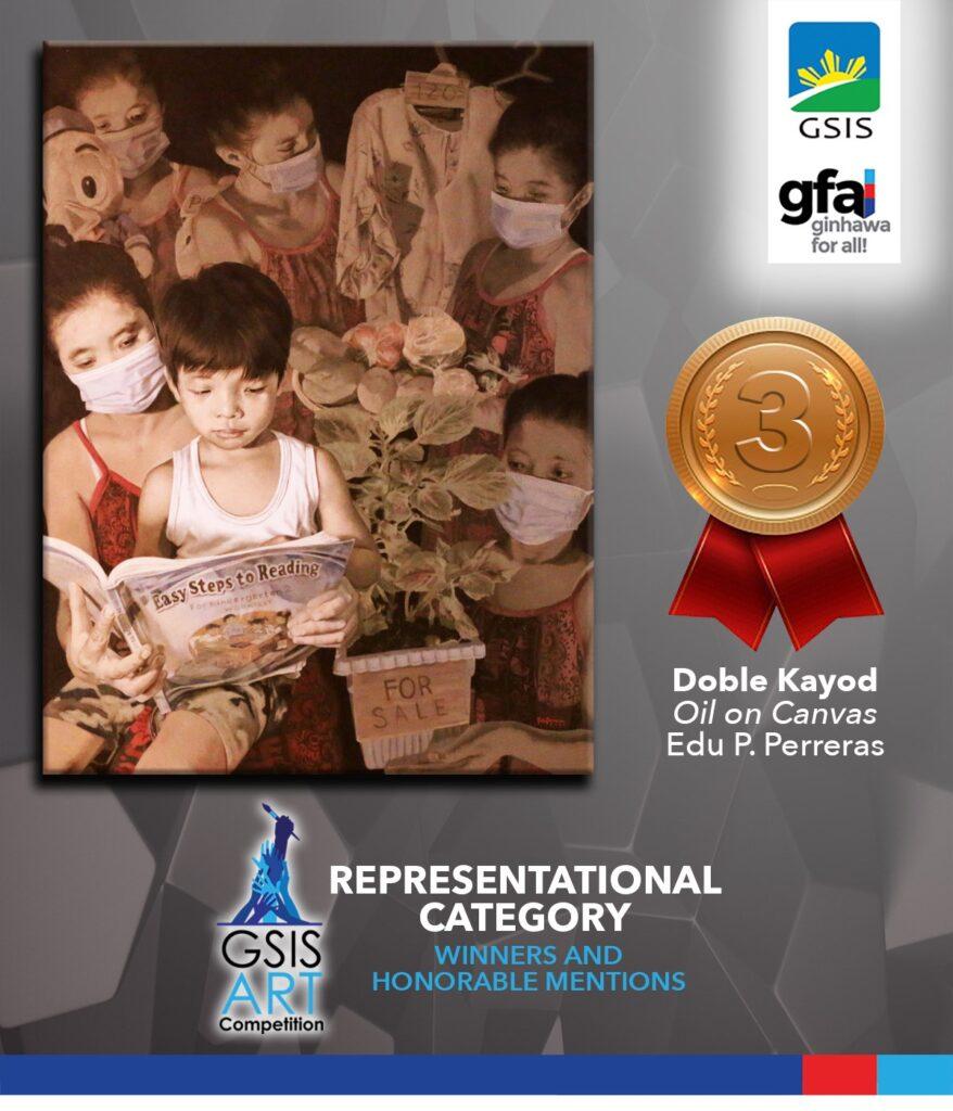 Representational Category - Third Prize Winner