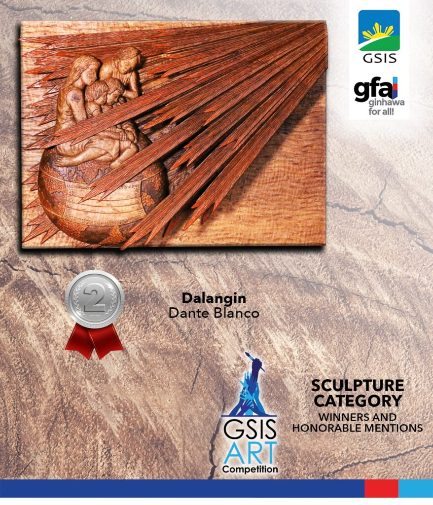 Sculpture Category - Second Prize