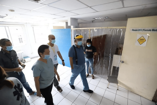 Hospitals in Iloilo City Short of Beds as COVID Cases Rise