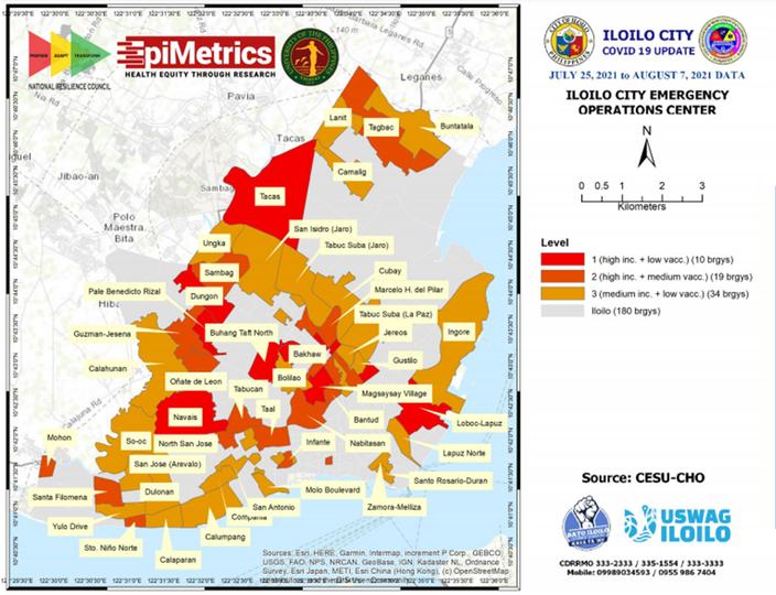ILOILO CITY VACCINE MAP SYSTEM