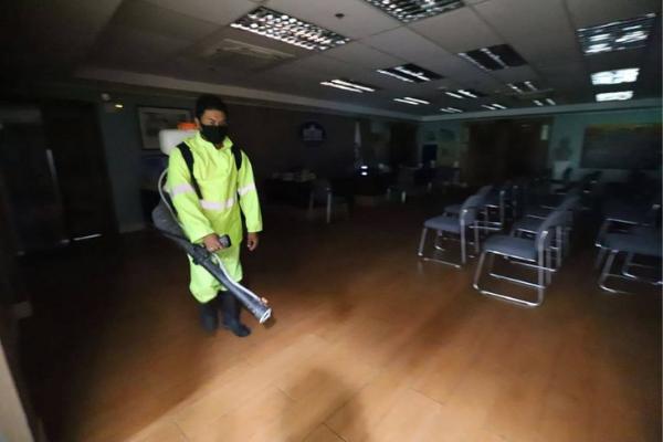 Iloilo City Mayor's Office on Lockdown