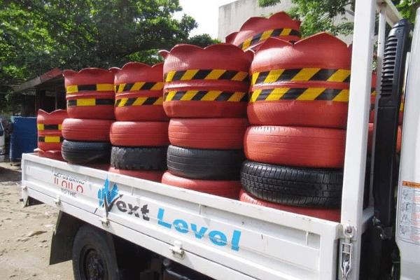 Iloilo City Gets Rid of Old Tires vs Dengue