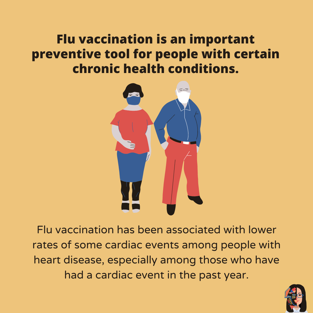 What are the benefits of flu vaccination 5